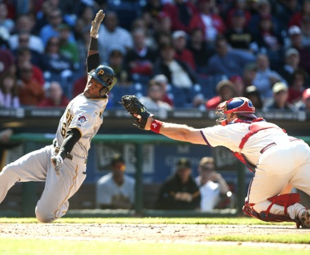 Starling Marte | Pittsburgh Pirates vs Philadelphia Phillies | Citizens Bank Park | Philadelphia, PA